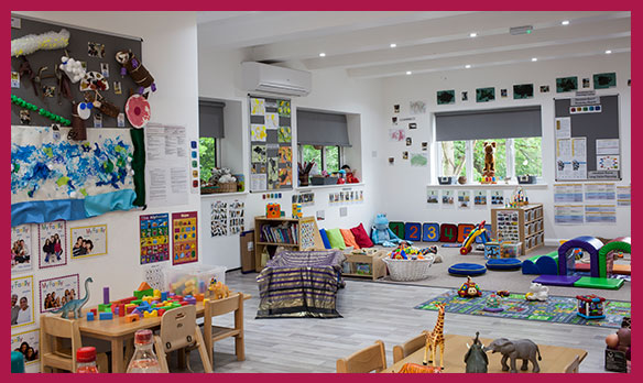 Happy Tree Northwood nursery provides a safe and nurturing environment for children